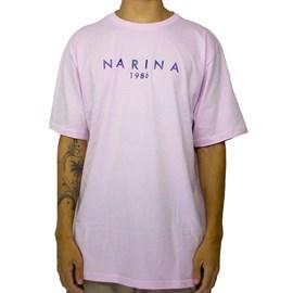 Camiseta Narina New 1986 rosa