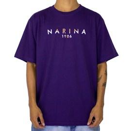 Camiseta Narina New 1986 Roxo