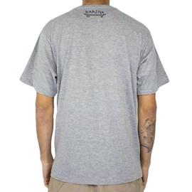 Camiseta Narina New Grafiti Cinza
