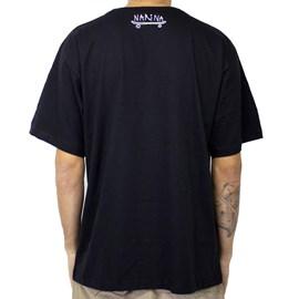 Camiseta Narina New Grafiti Preto