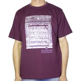 Camiseta Narina Portão Bordo