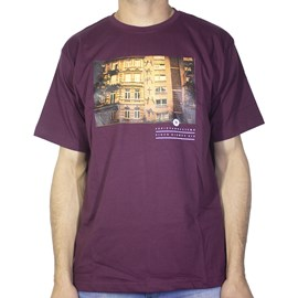 Camiseta Narina Predio Bordo