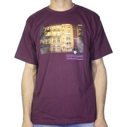 Camiseta Narina Predio Bordo