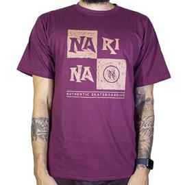 Camiseta Narina Quadro Bordo