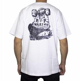 Camiseta Narina R.i.p Branco