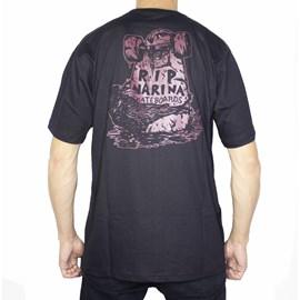 Camiseta Narina R.i.p Preta