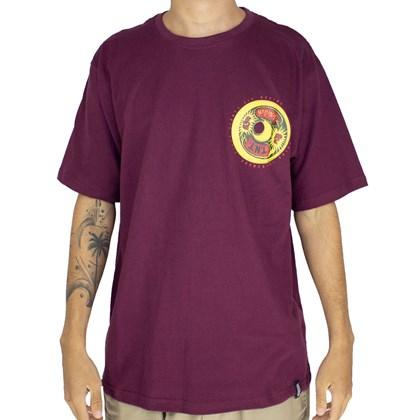 Camiseta Narina Roda animal Bordo