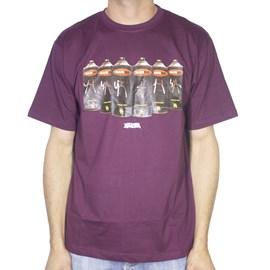 Camiseta Narina Spray Bordo