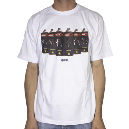 Camiseta Narina Spray Branca