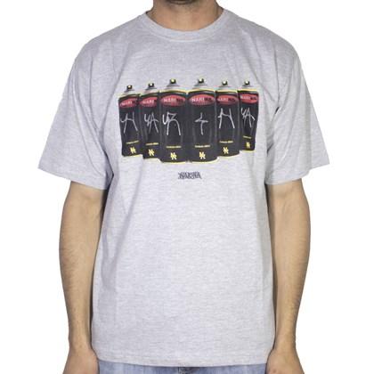 Camiseta Narina Spray Cinza