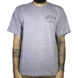 Camiseta Narina Trademark Cinza