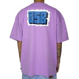 Camiseta Nike Sb Stamp Lilas