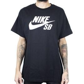 Camiseta Nike Sb Tee Logo Preto Cv7539 010
