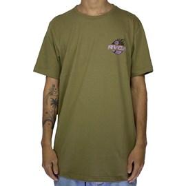 Camiseta Rvca Atlas Verde Militar