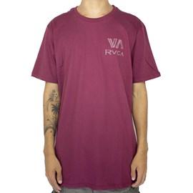 Camiseta Rvca Dry Brush Vermelho