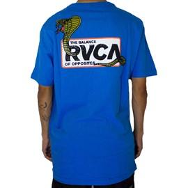 Camiseta Rvca Snake Eyes Azul