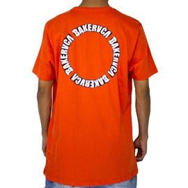 Camiseta Rvca X Baker Laranja