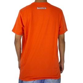 Camiseta Rvca X Baker Photo 1 Laranja