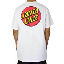 Camiseta Santa Cruz Classic Dot Branco