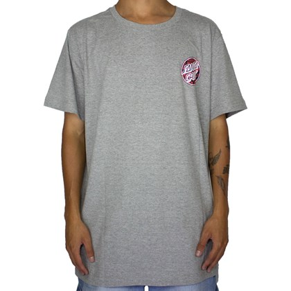 Camiseta Santa Cruz Handbill Dot Preto