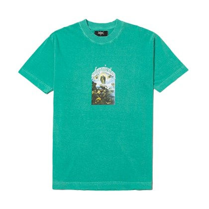 Camiseta Sufgang Bless The Haters Verde Agua