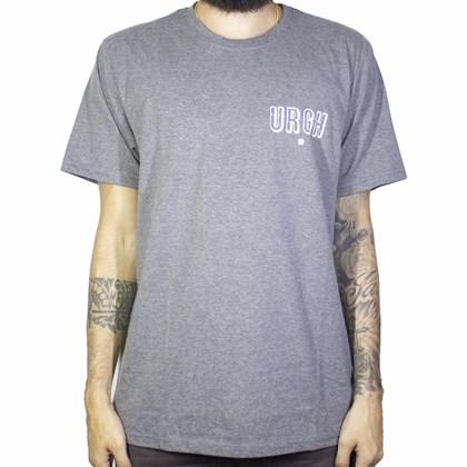 Camiseta Urgh Flores Cinza