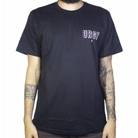 Camiseta Urgh Flores Preta
