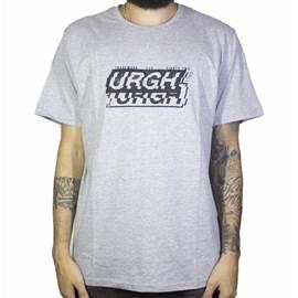 Camiseta Urgh Interferencia Cinza