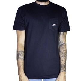 Camiseta Vans Custom Everyday Pocket Black Vnba36Ijblk