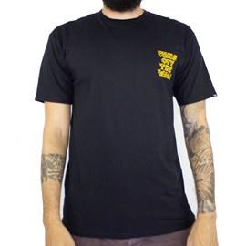 Camiseta Vans Gnarcat Black VN0A4ROLBLK