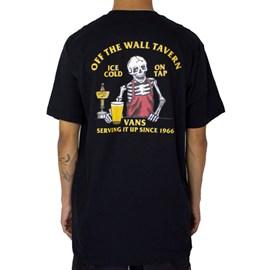 Camiseta Vans Off The Wall Tavern Black VN0A5KCRBLK
