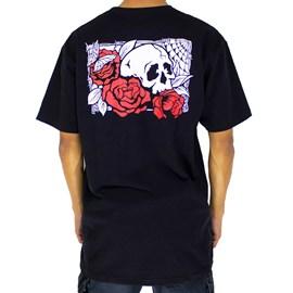 Camiseta Vans Rose Bed Black