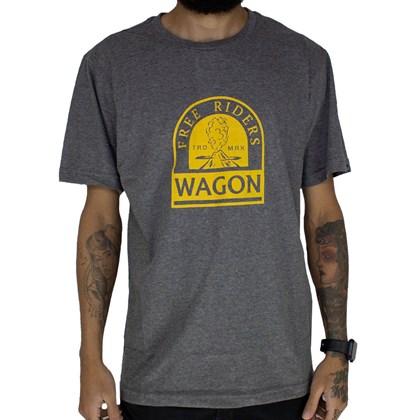 Camiseta Wagon Free Riders Cinza