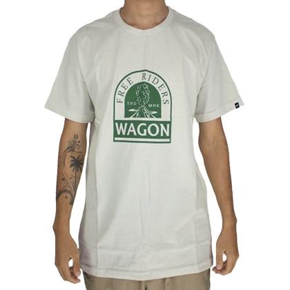 Camiseta Wagon Free Riders Verde Claro