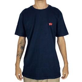 Camiseta Wagon W Azul Marinho