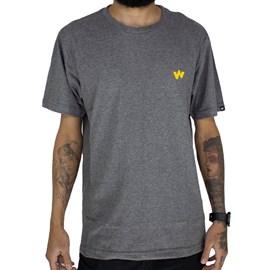 Camiseta Wagon W Cinza