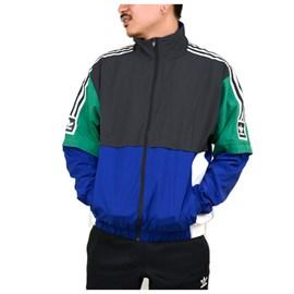 Jaqueta Adidas Corta Vento Stdrd 20 Azul Ec7329