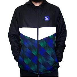 Jaqueta Adidas Corta Vento Towning Preta