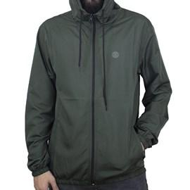 Jaqueta Element Corta Vento Zip Verde