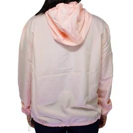 Jaqueta Element feminina Corta vento Logo Rosa
