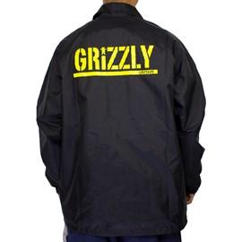Jaqueta Grizzly Corta Vento Og Bear Black I20GRH24