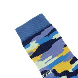 Meia Altai Camuflado Azul
