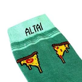Meia Altai Company Pizza Verde