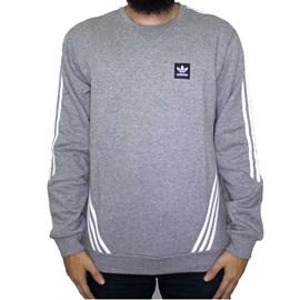 Moletom Adidas Careca Insley  Crew Cinza