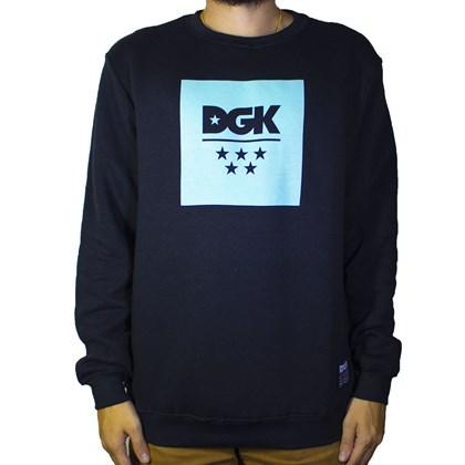 Moletom Dgk Careca All Star Fleece I20DGG06 Black