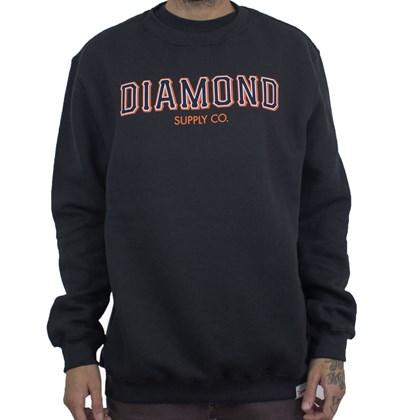 Moletom Diamond Sf Fleece I20DIG03 Black