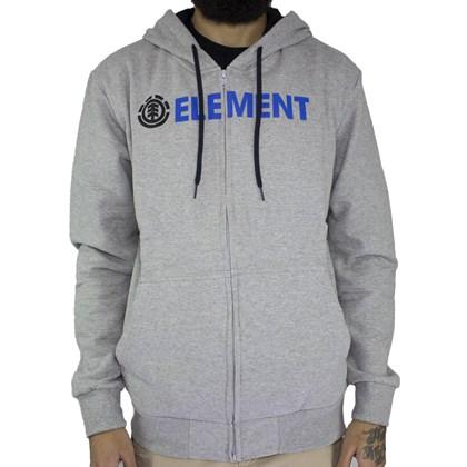 Moletom Element Blazin Zip Cinza
