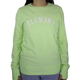 Moletom Element Feminino Sweet Verde