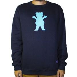 Moletom Grizzly Careca Og Bear Pullover I20GRG13 Black