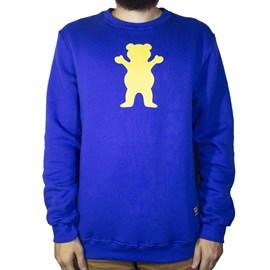 Moletom Grizzly Careca Og Bear Pullover I20GRG13 Royal